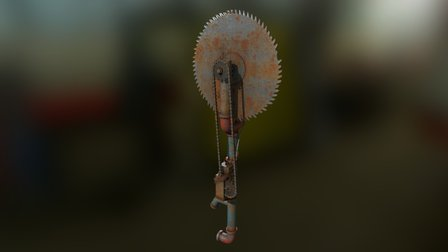 Pipe Saw 3D Model