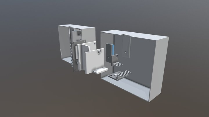 Sensor Box Placement 3D Model
