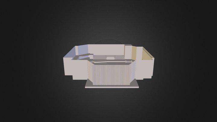 Hope Community Auditorium 3D Model
