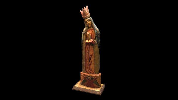 La Virgen De Guadalupe 3D Model