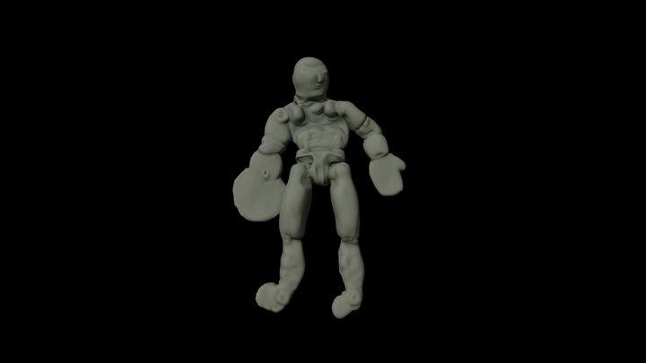 Art-Mah Hulk 3D Model