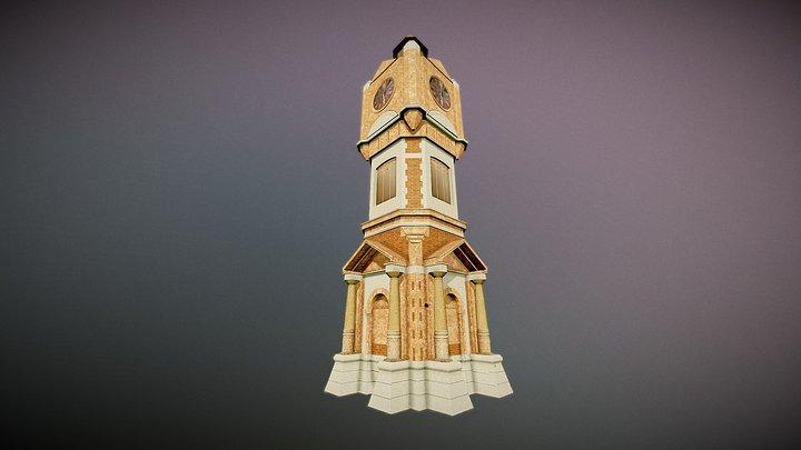 Preston Park Clocktower, Brighton, UK 3D Model