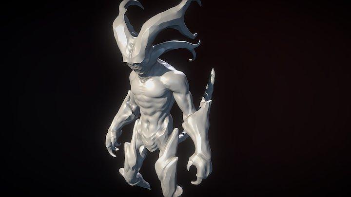 Faceless Demon 3D Model