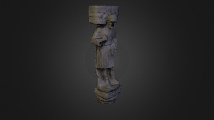 Scultura in campo dei mori 3D Model