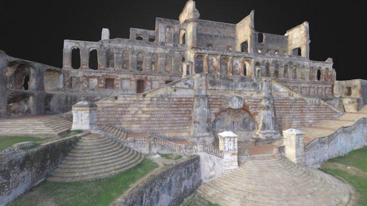 Palais de Sans Soucis  -  Haiti 3D Model