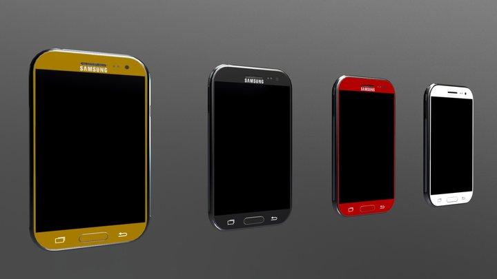 Mobiles 4K 3D Model