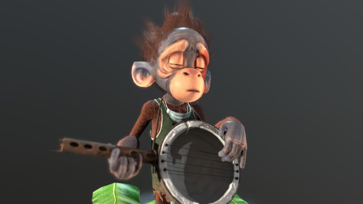 Song for a lost Home (RealTime Character) 3D Model