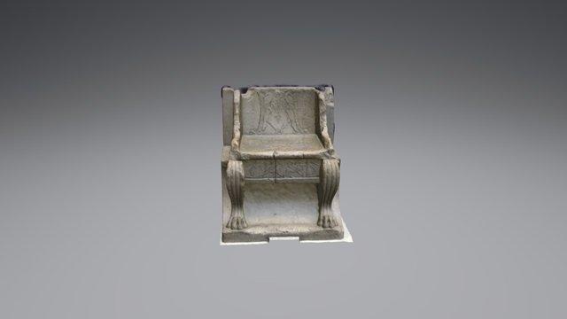 Priest's Throne 3D Model