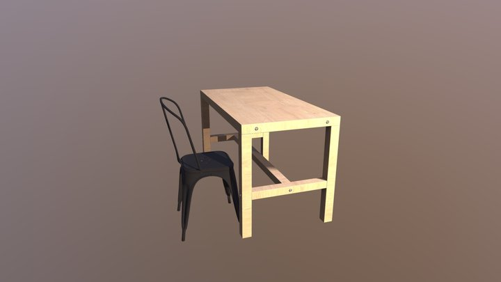 Test interactive 3D Model