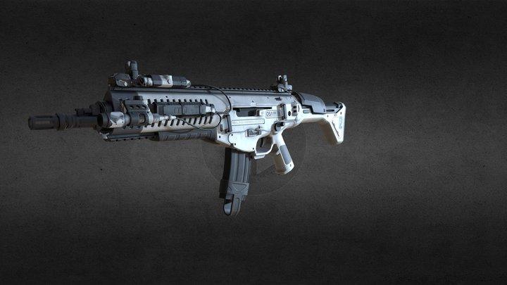 ARX-160 weapon 3D Model