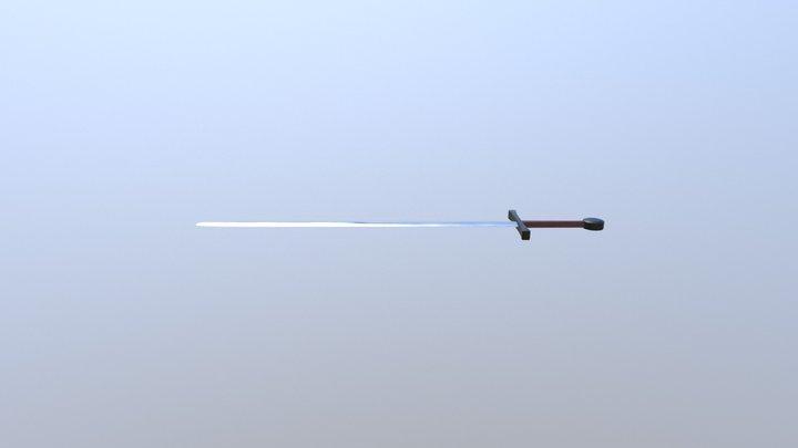 Kelt Low Sword :3 3D Model