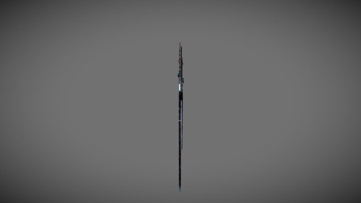 Fiacail Swords 3D Model