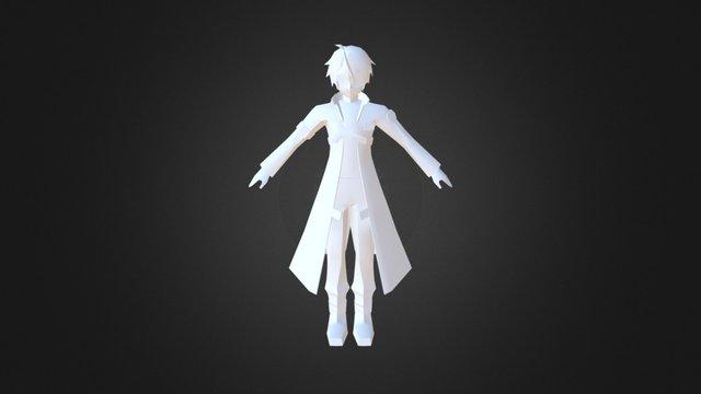 Kirito (SAO) (Simple) 3D Model
