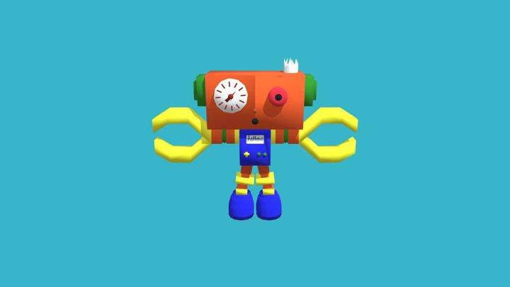 robot Jefferey 3D Model