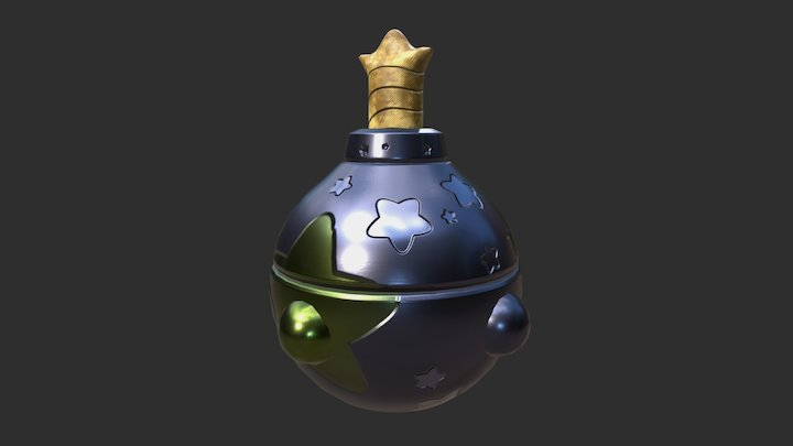 Star Bomb 3D Model