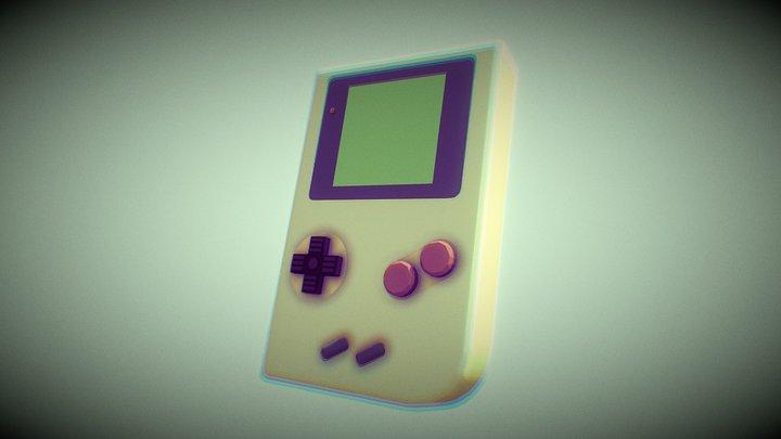 Ejercicio Game Boy 3D Model
