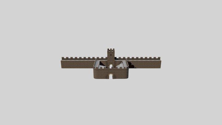 The Romans | Milecastle 3D Model