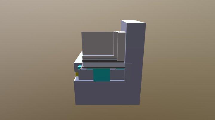 Sockel mit Fenster2 3D Model