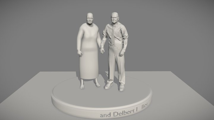 Work in Progress Grandparents 3D print 3D Model