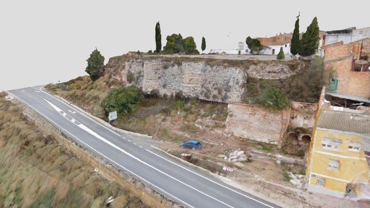 Castillo de Zaidín 3D Model