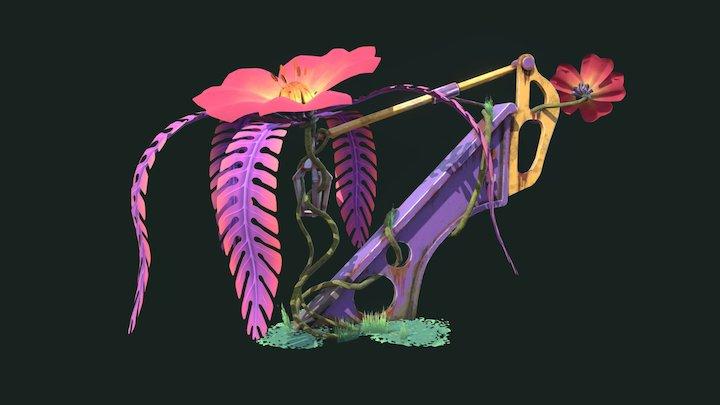 SkyTerra - The Lamp Flower 3D Model