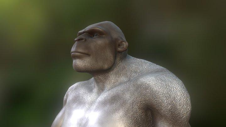 Bigfoot 3D Model