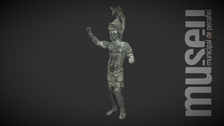 Estatueta de Marte 3D Model