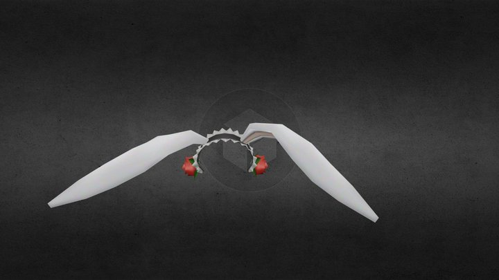 Accesory Bunny Head 3D Model