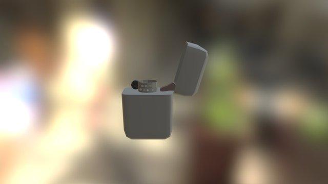Lighter Model 3D Model