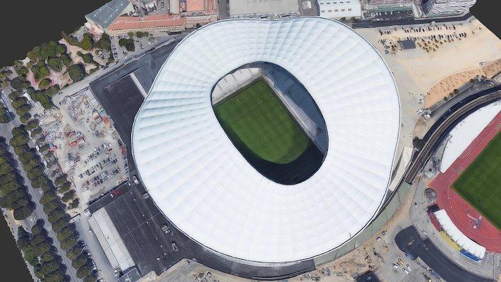 Stade Vélodrome / Marseille 3D Model