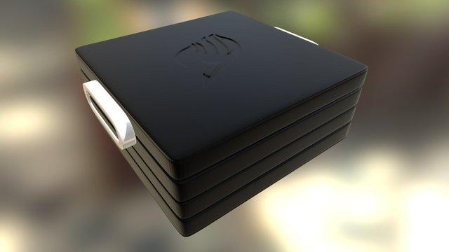 Fairy Tail Bento Box 3D Model