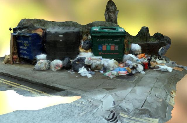 Rubbish Bin 3D Model