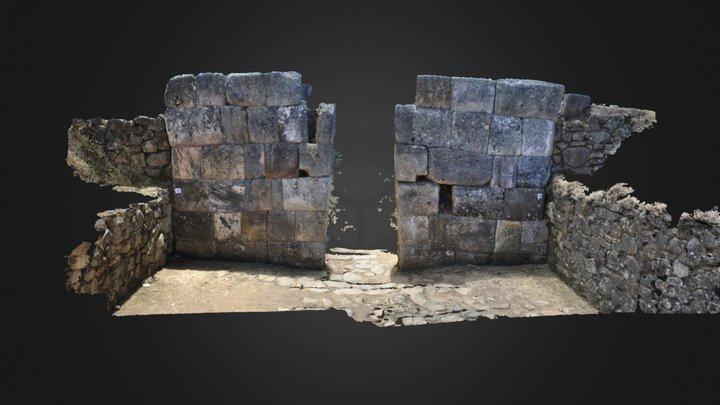 Modelo Ruinas Info 3D Model