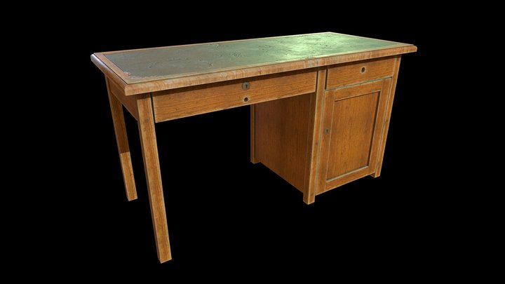 USSR Old table 3D Model