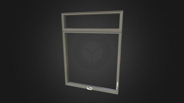 Fenêtre à Manivelle Alu 3D Model