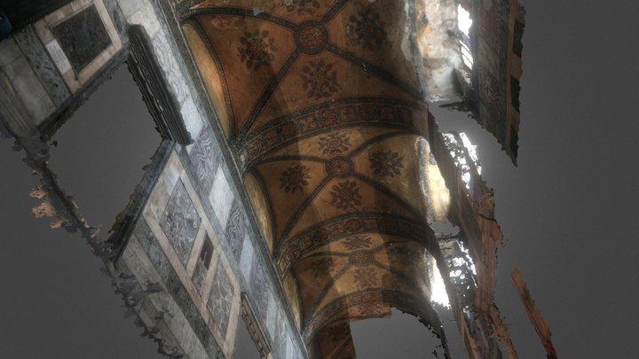 Narthex of Hagia Sophia 3D Model