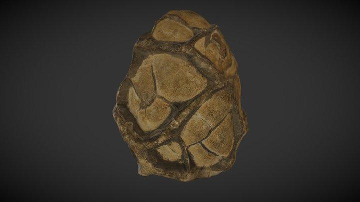 Dragon Egg  (Septarian Nodule) 3D Model