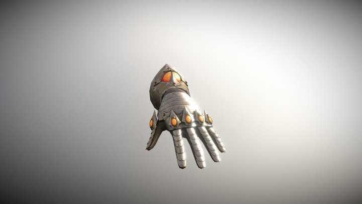 Glove Game Prop 3D Model