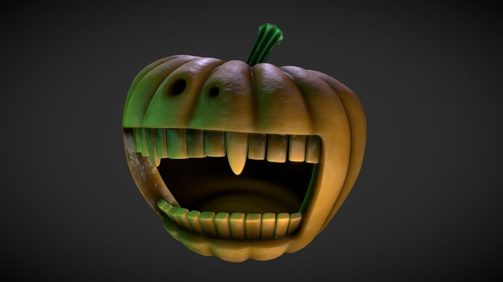Pumpkin Party 3D Model