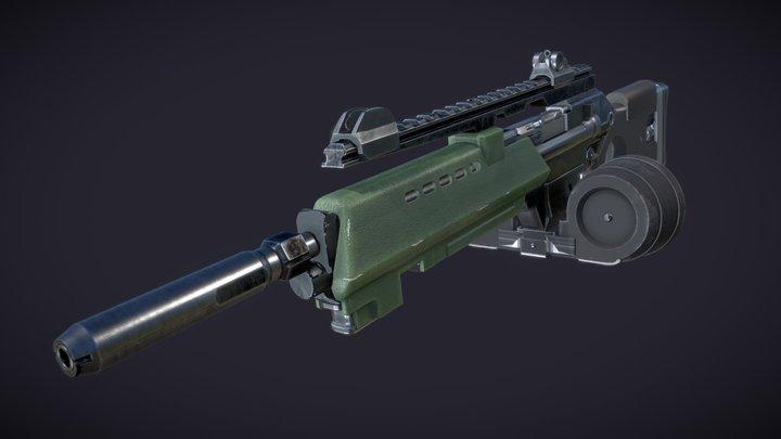 F.E.A.R. - Rakow G2A2 Assault Rifle 3D Model