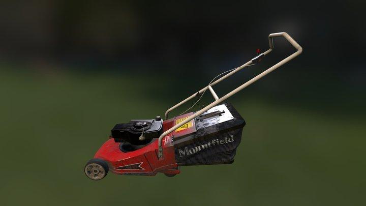 Mower 3D Model