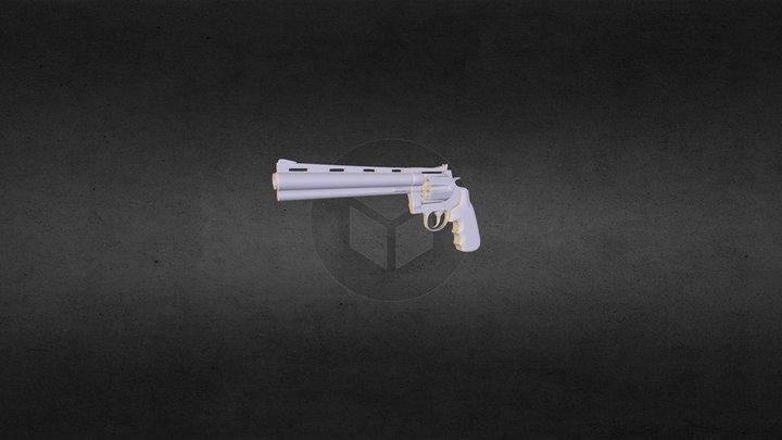 Colt Anaconda High res 3D Model