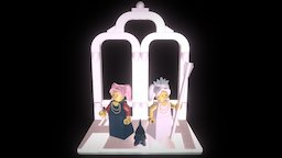 LEGO Sailor Moon Stage 3D Model