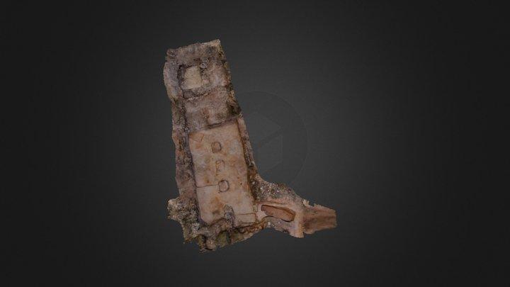 Paridera del Saso. Belchite 3D Model