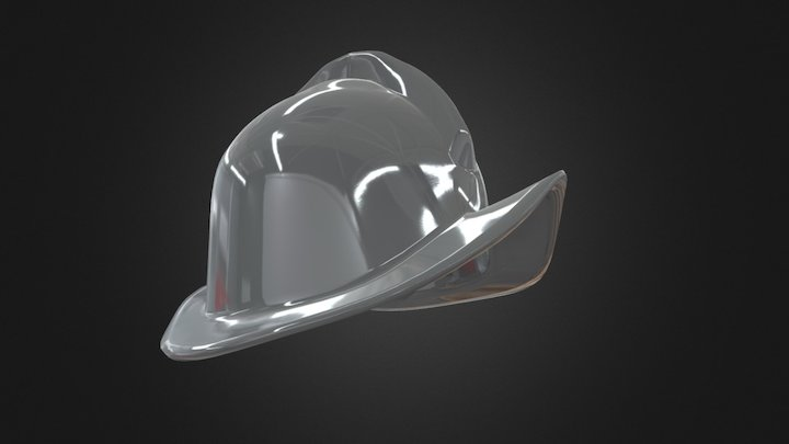 Spanish Morion Helmet 3D Model