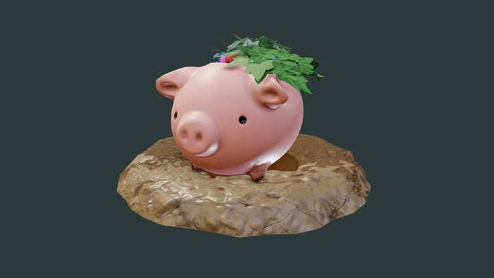 Animal potted plant (Final submission) 3D Model
