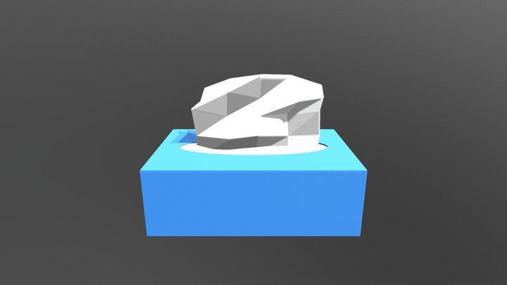 Tissue Box - Household Props Challenge 3D Model