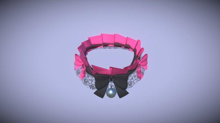 Frilly Choker 3D Model