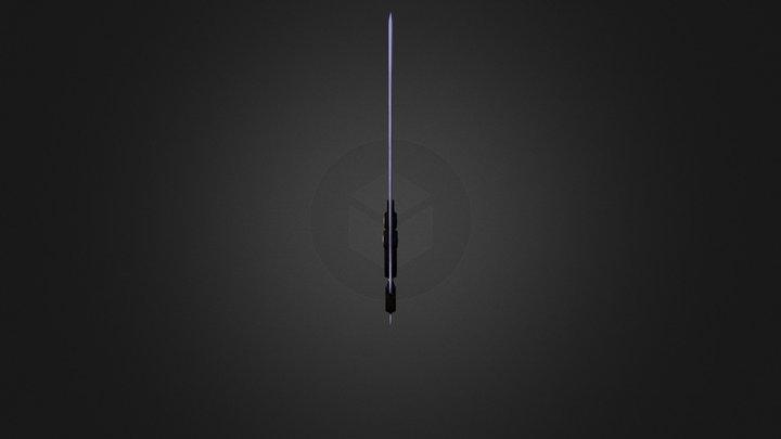Lyra's Lightning Sword - Lumiere 3D Model