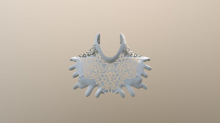 Necklace Concept Draft 3D Model